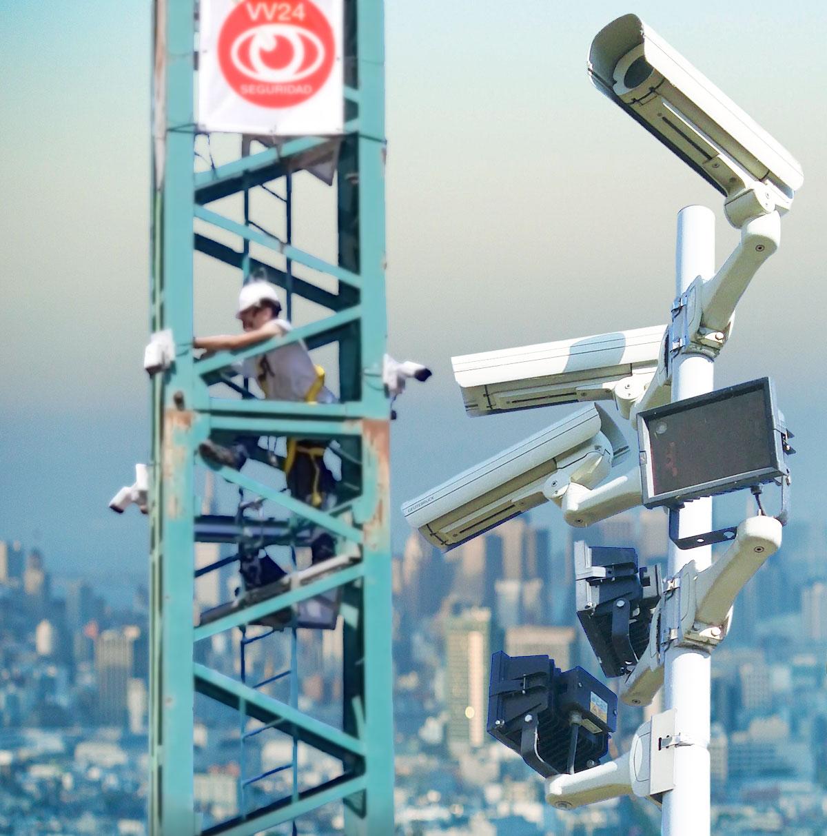 Instalacion de sistemas de video vigilancia
